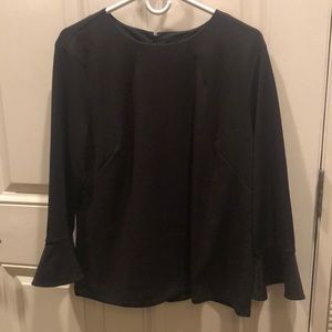 Ann Taylor Never worn black top winter XL
